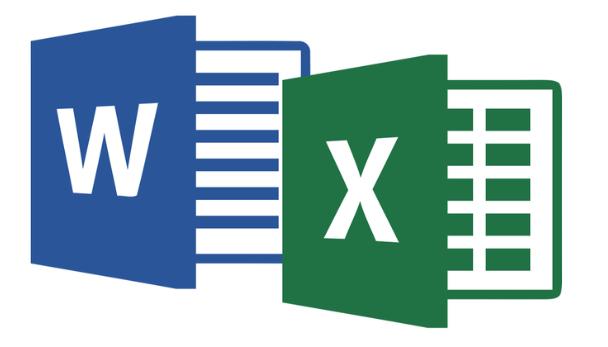 Ondersteuning Word en Excel
